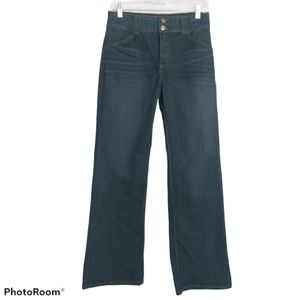 Nydj High Rise Wide Leg Jeans 6P